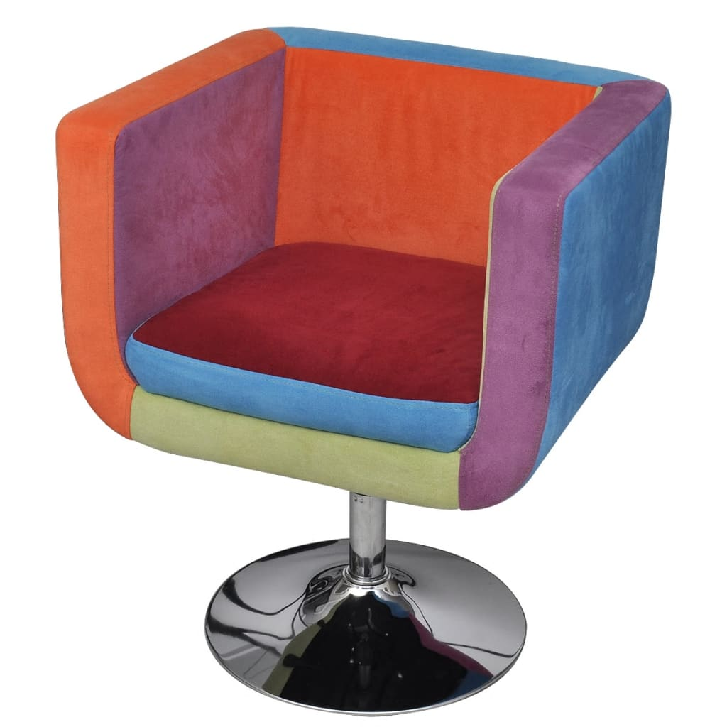 Cube Chair Patchwork Height Adjustable
