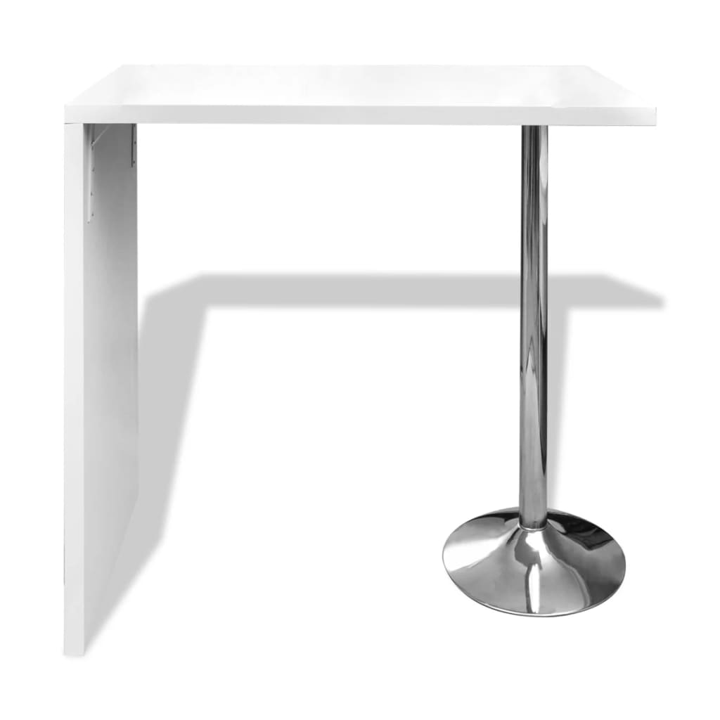 La boutique en ligne table blanche verniss e table de bar for Table bar blanche