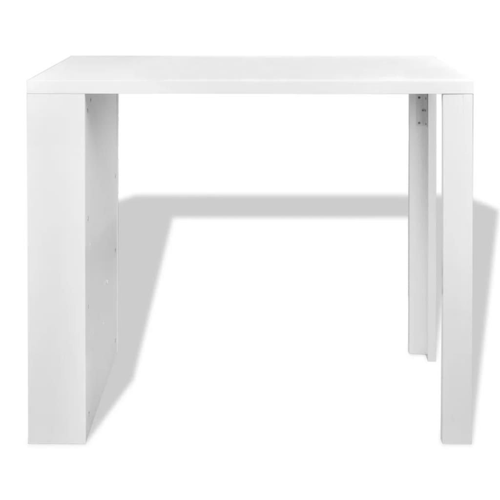 Coffee Table Layers White High Gloss Amazon Co Uk Kitchen: High Gloss Bar Coffee Table Dining Table 3