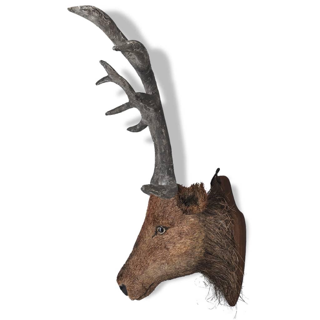 Cabeza de ciervo para decoraci n de pared apariencia natural tienda online - Cabeza de ciervo decoracion ...