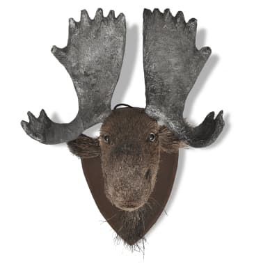 Moose Head Wall Mounted Decoration Natural Looking[4/6]