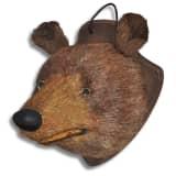 Nástenná dekorácia, medvedia hlava s realistickým vzhľadom