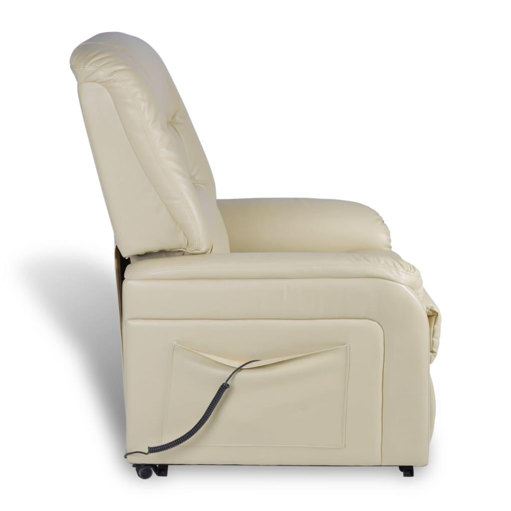 sill n blanco el ctrico reclinable y ajustable tienda