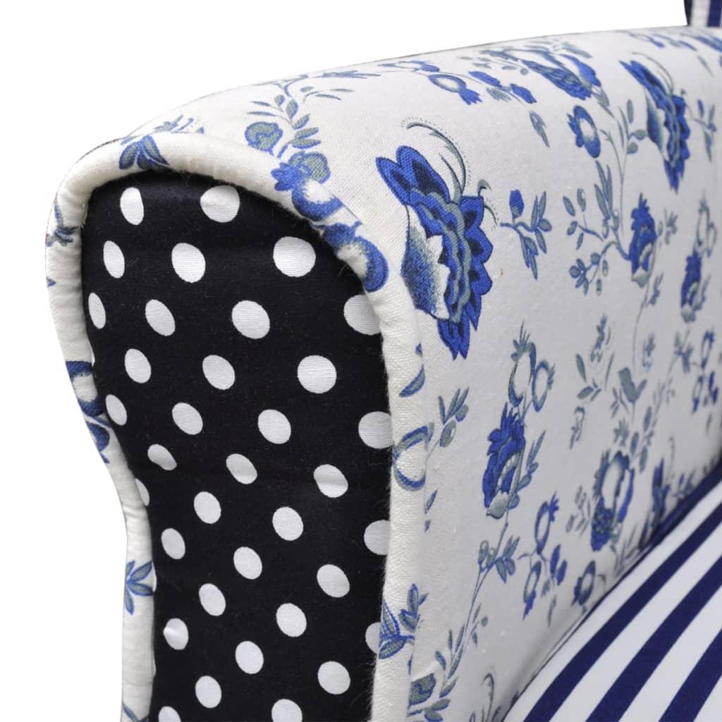 vidaXL-Sillon-de-descanso-con-retales-estilo-campestre-con-flores-azul-y-blanco