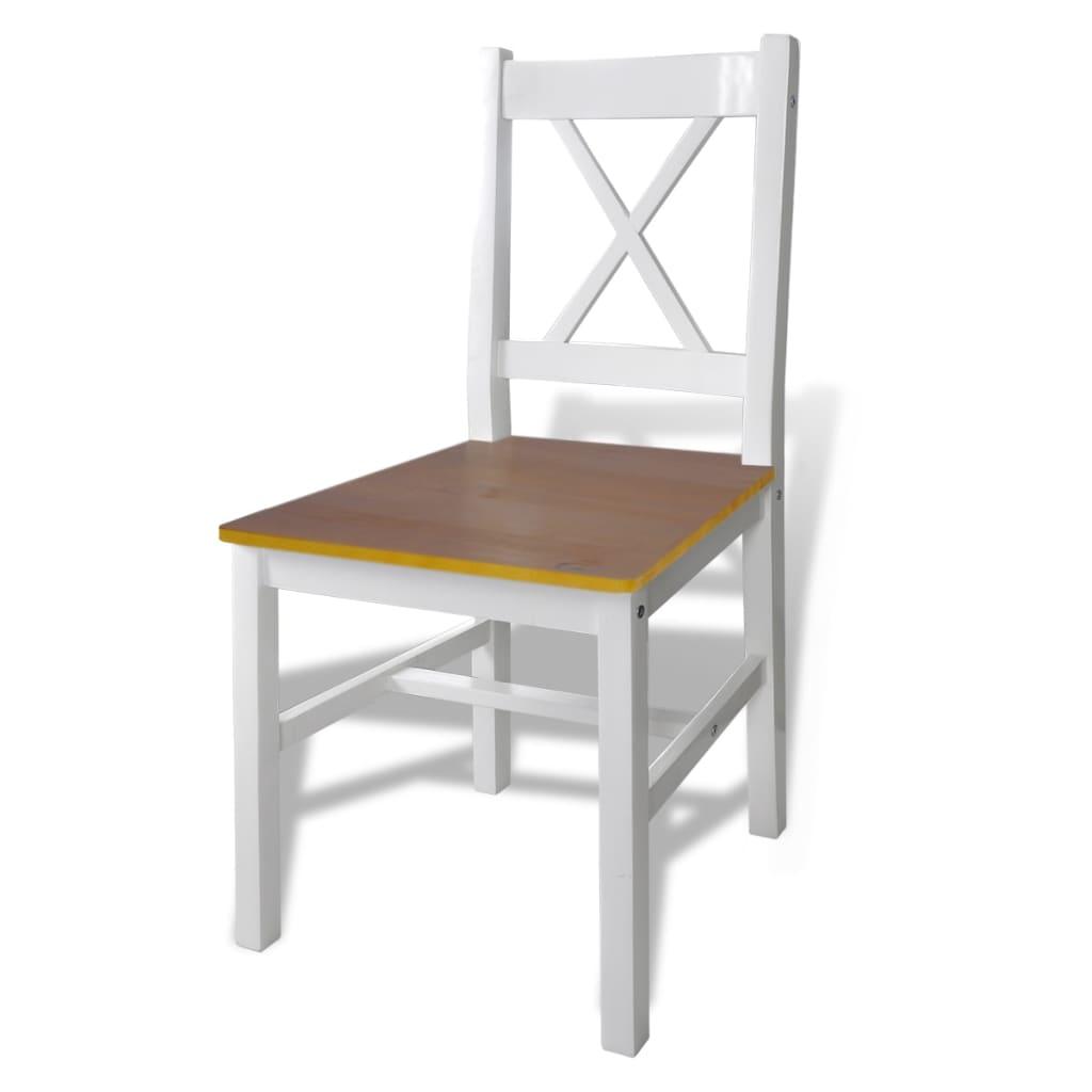 Mobiliário de Madeira com Mesa e 4 Cadeiras Marrom www.vidaxl.pt #B0881B 1024x1024