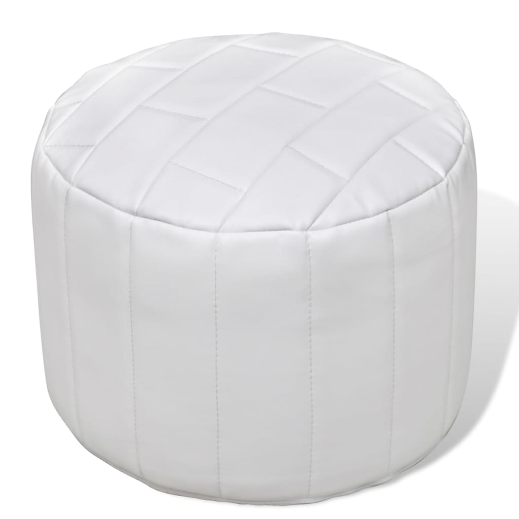 Pouf repose pied contemporain design simple tabouret - Pouf repose pieds salon ...
