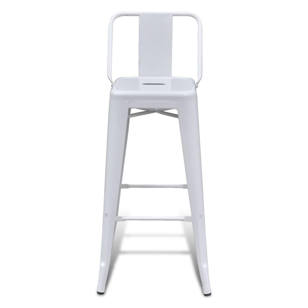 Vidaxl silla de bar taburete bar sillas altas cuadrada 2 - Sillas altas bar ...