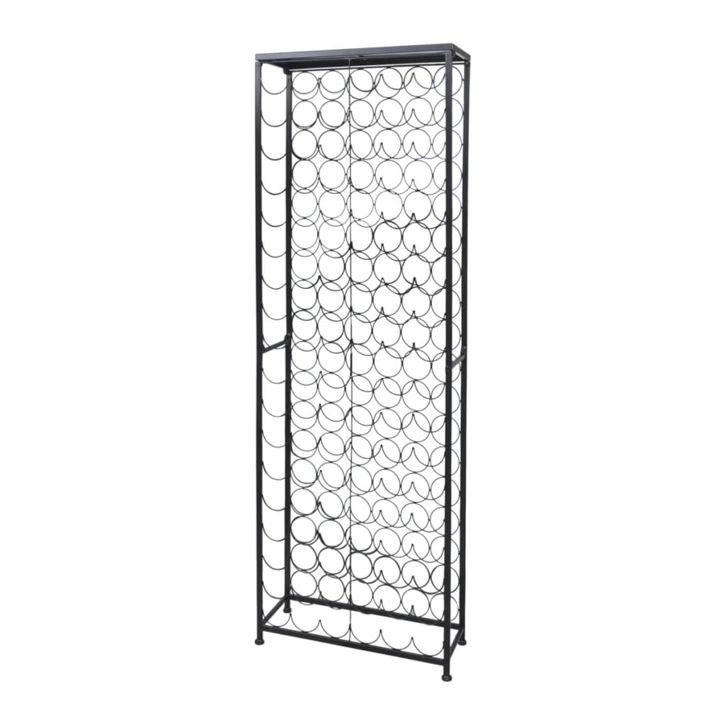 Metal Wine Rack Wine Stand For 108 Bottles