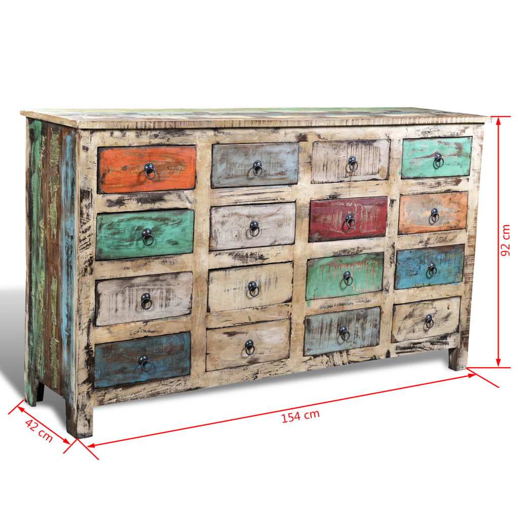 la boutique en ligne commode cabinet de rangement vintage. Black Bedroom Furniture Sets. Home Design Ideas
