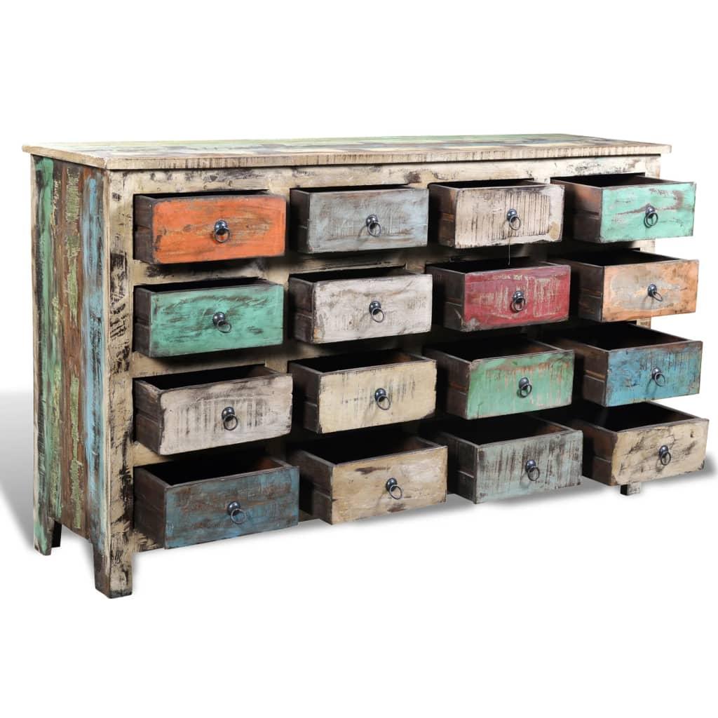 der anrichte sideboard schrank kommode retro online shop. Black Bedroom Furniture Sets. Home Design Ideas