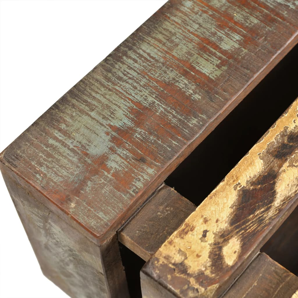 Antique-style Reclaimed Wood Coffee Table