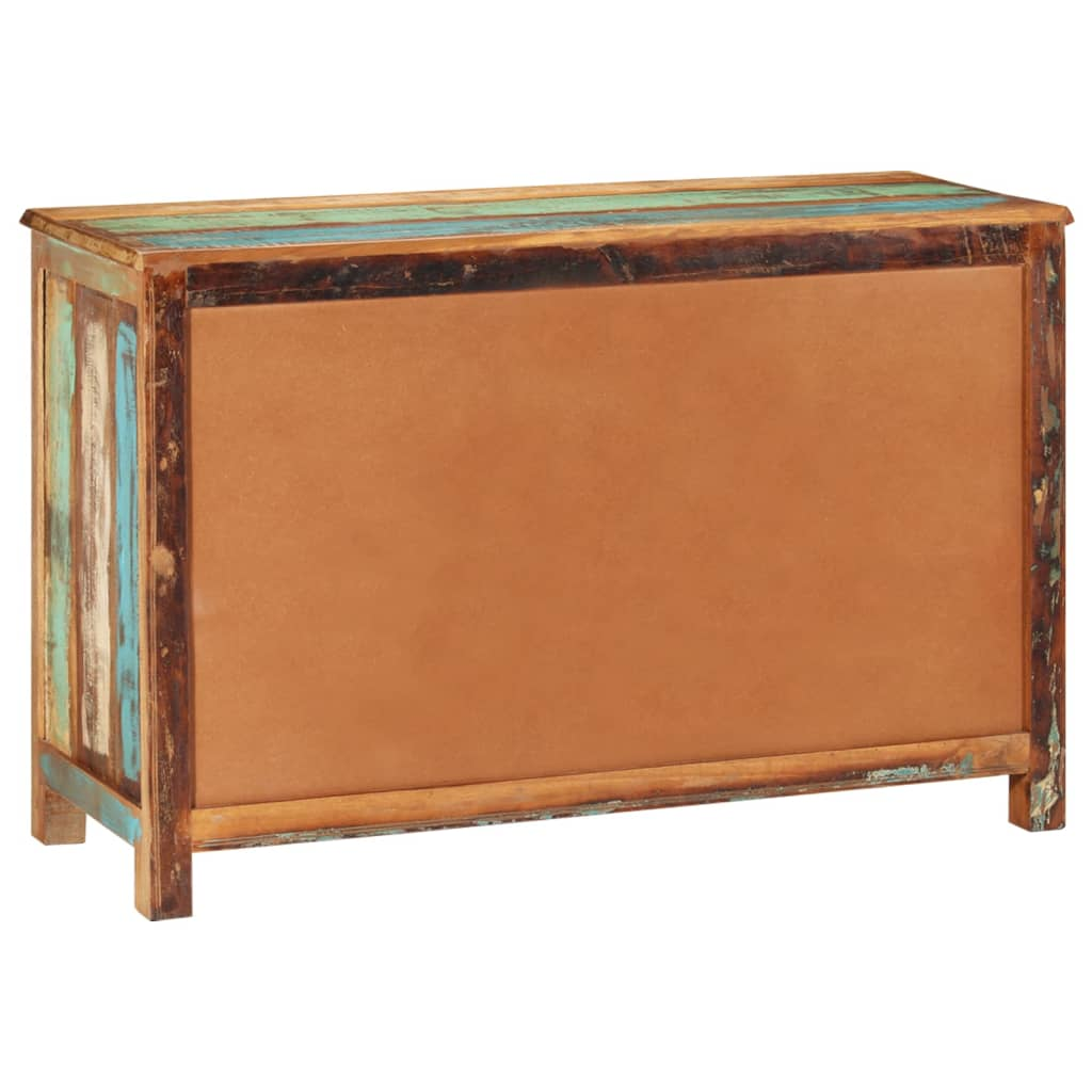 Reclaimed wood cupboard cabinet sideboard 3 for Sideboard 100 cm hoch