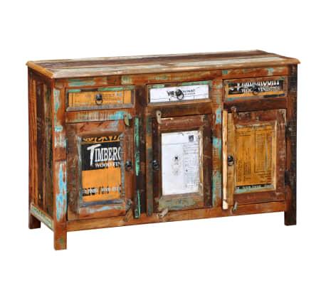 massivholz kommode sideboard schrank 3 t ren online shop. Black Bedroom Furniture Sets. Home Design Ideas
