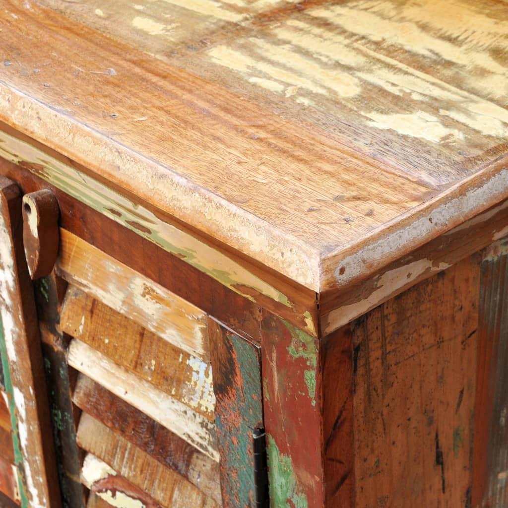 Vidaxl reclaimed wood cupboard cabinet shades