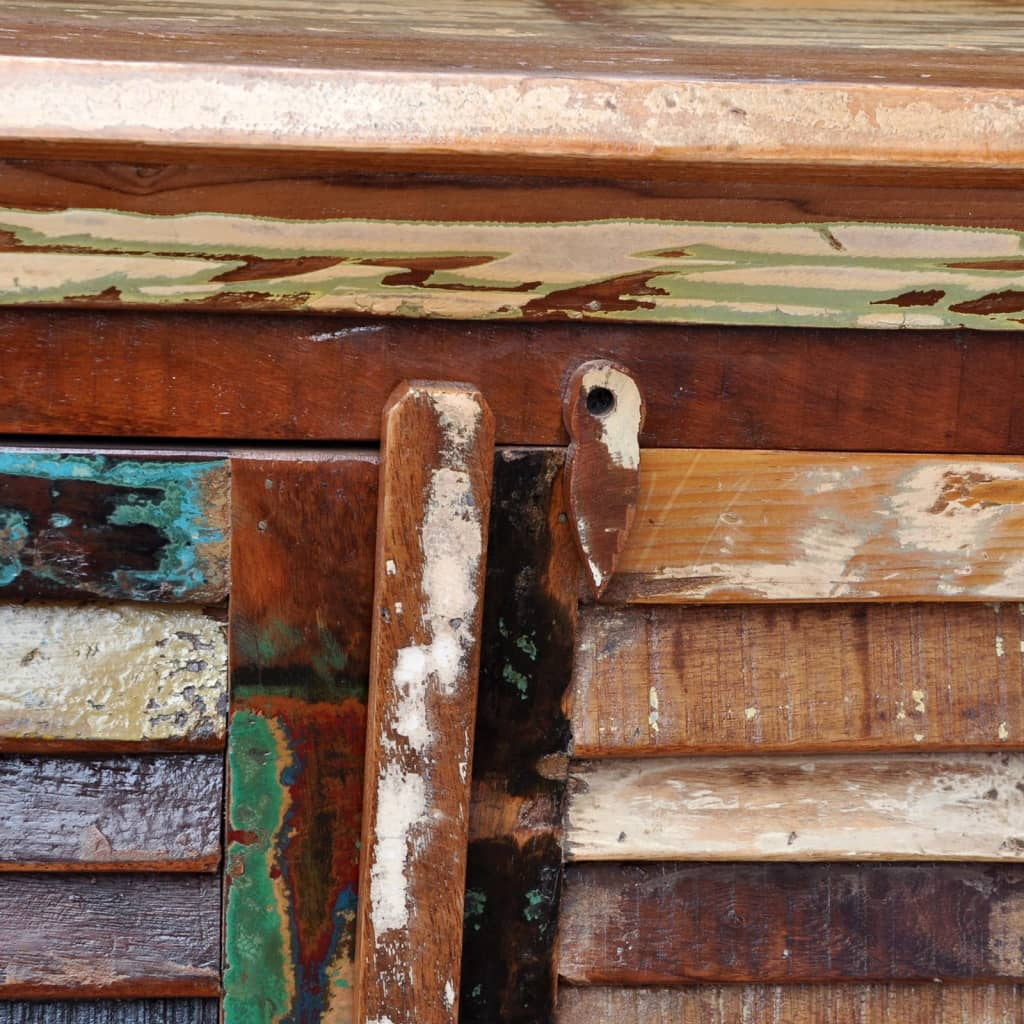 der antik vintage massivholz kommode sideboard schrank 4 t ren online shop. Black Bedroom Furniture Sets. Home Design Ideas
