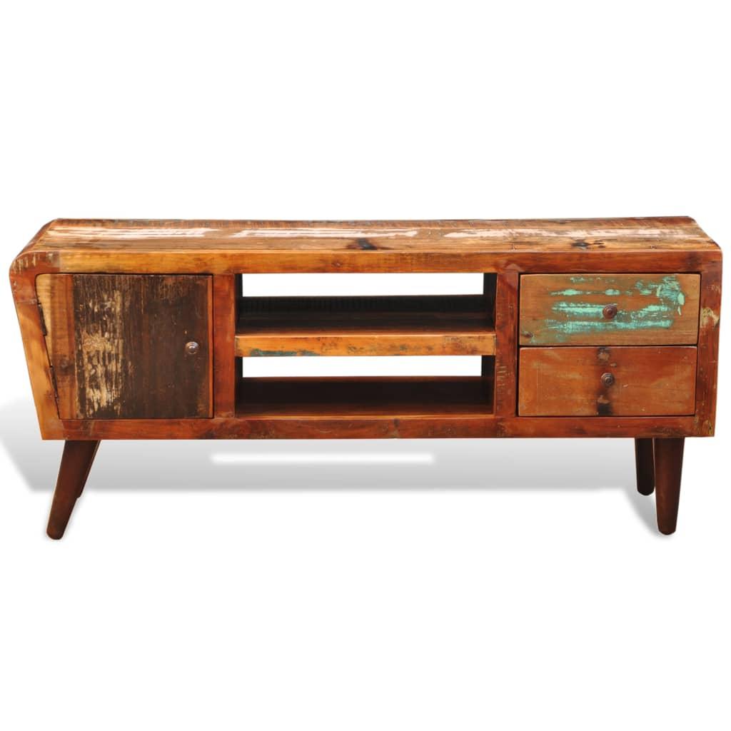 la boutique en ligne meuble tv vintage multicolore 1 porte. Black Bedroom Furniture Sets. Home Design Ideas