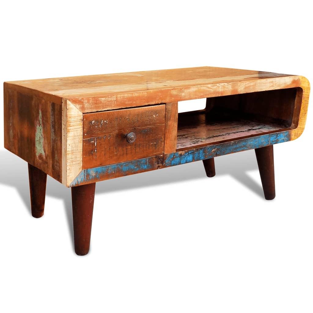 acheter table basse ancienne vintage pas cher. Black Bedroom Furniture Sets. Home Design Ideas