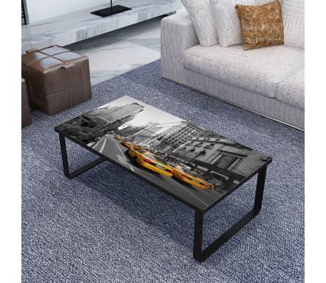 rechteckig couchtisch beistelltisch sofatisch glastisch. Black Bedroom Furniture Sets. Home Design Ideas