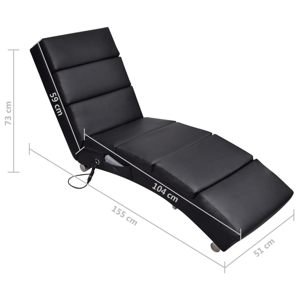 acheter chaise massage electrique fonctionnelle noir pas cher. Black Bedroom Furniture Sets. Home Design Ideas