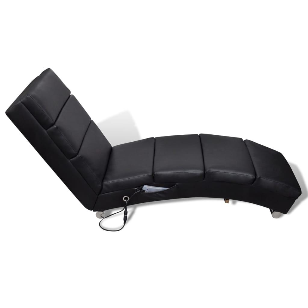 la boutique en ligne chaise massage electrique fonctionnelle noir. Black Bedroom Furniture Sets. Home Design Ideas