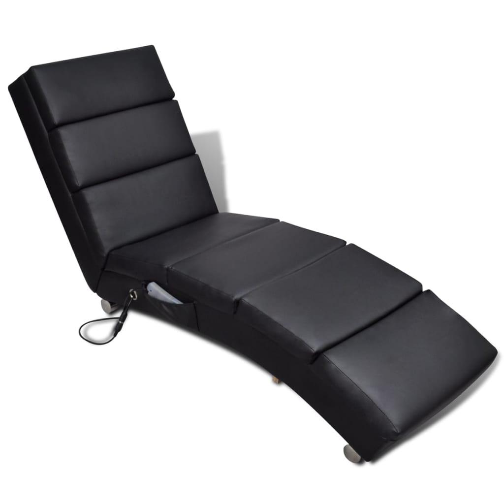 La boutique en ligne chaise massage electrique fonctionnelle noir - Chaise massage electrique ...