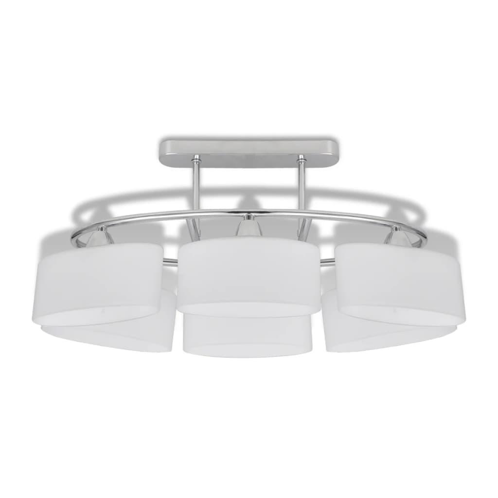 Articoli per Lampada da soffitto lampadario di vetro ellissoidale 6 lampadine...