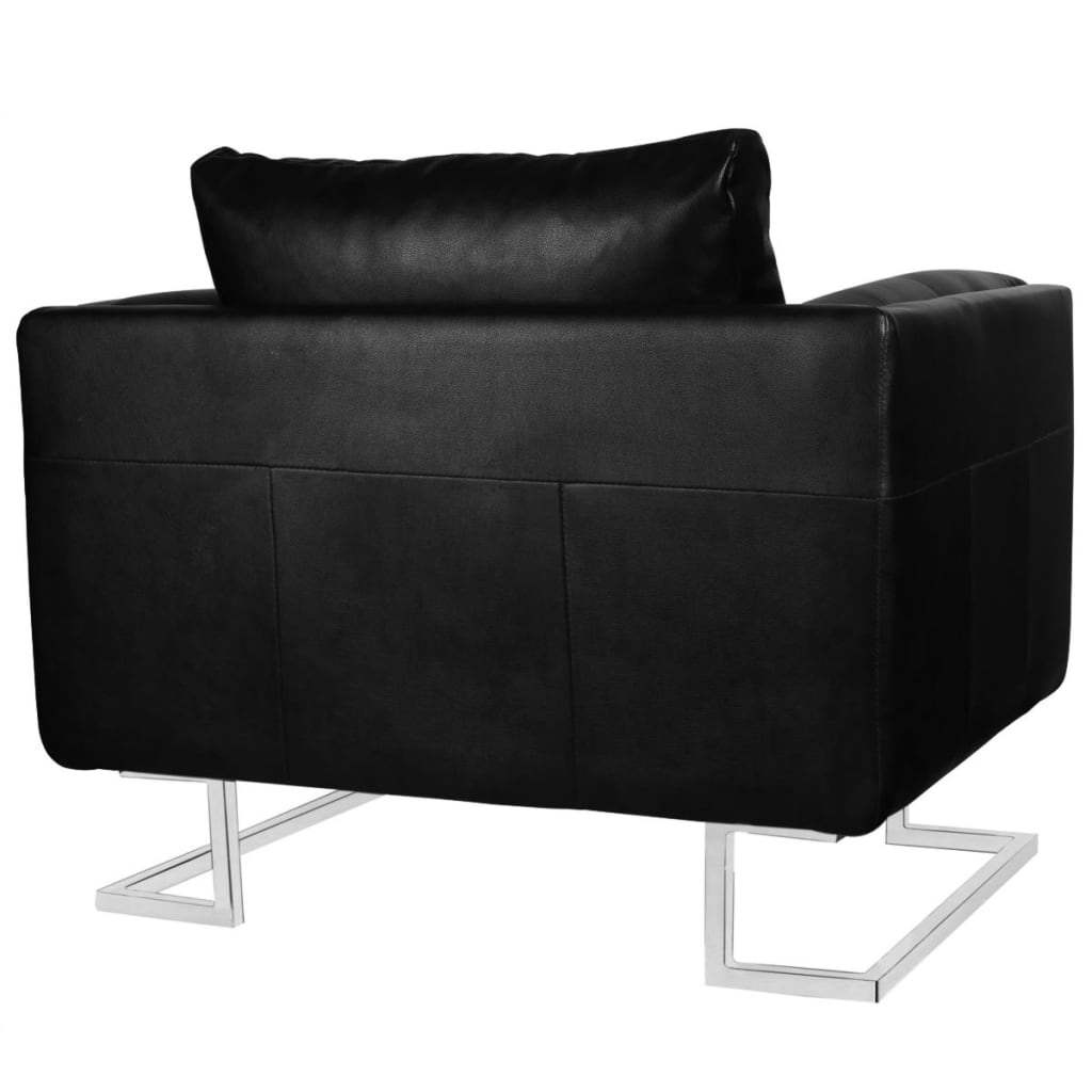 Der luxus ledersofa sessel hohe qualit t schwarz mit - Luxus ledersofa ...