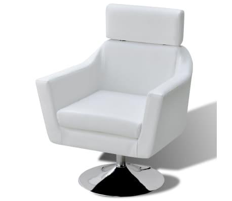 vidaxl tv sessel aus kunstleder wei im vidaxl trendshop. Black Bedroom Furniture Sets. Home Design Ideas