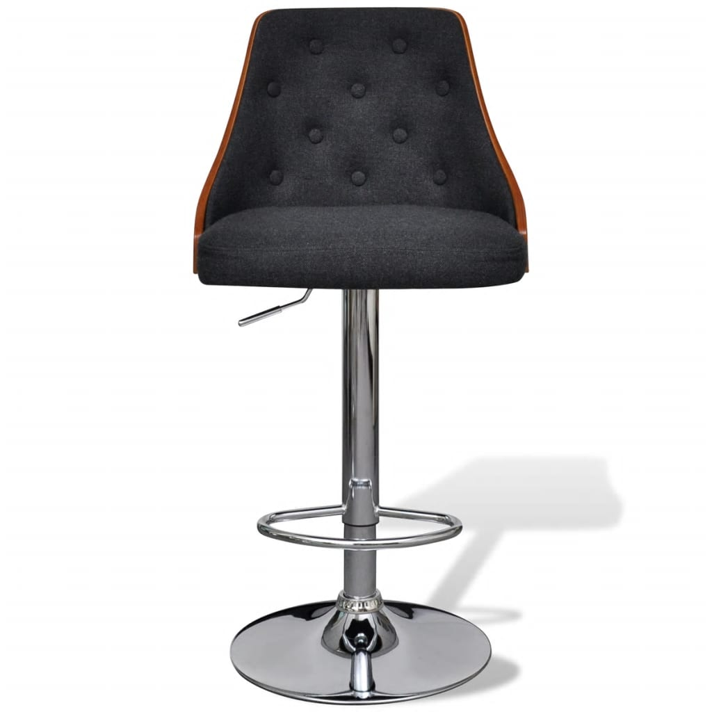 acheter lot de 2 tabourets de bar r glables avec dossier pas cher. Black Bedroom Furniture Sets. Home Design Ideas