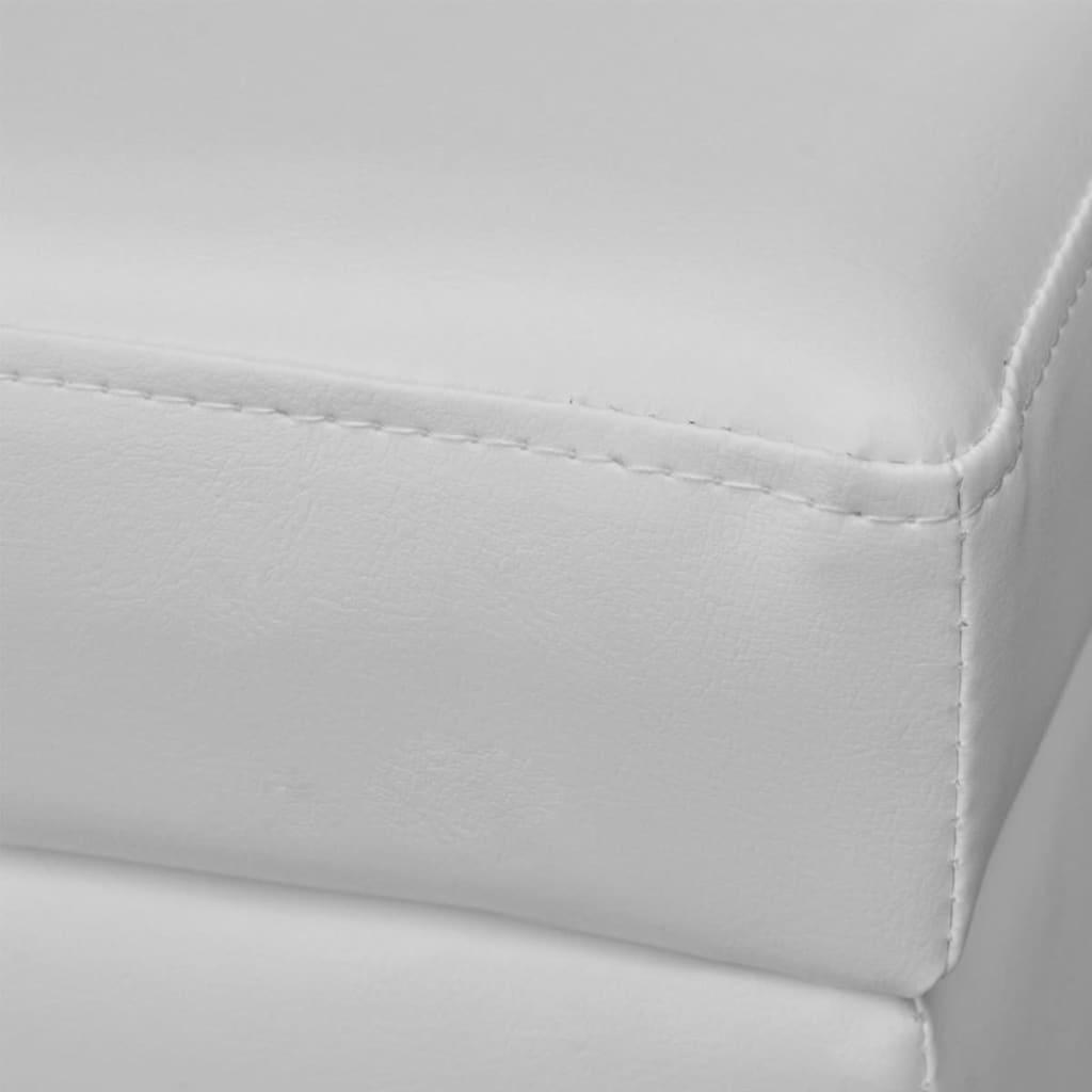 la boutique en ligne banc de rangement en bois blanc. Black Bedroom Furniture Sets. Home Design Ideas