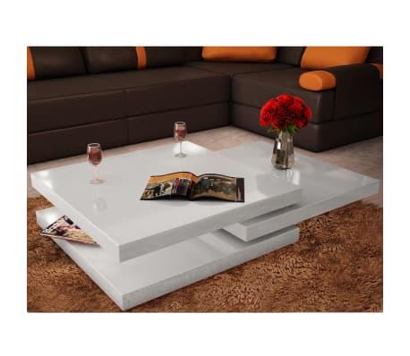 la boutique en ligne table basse blanc laqu carr e. Black Bedroom Furniture Sets. Home Design Ideas