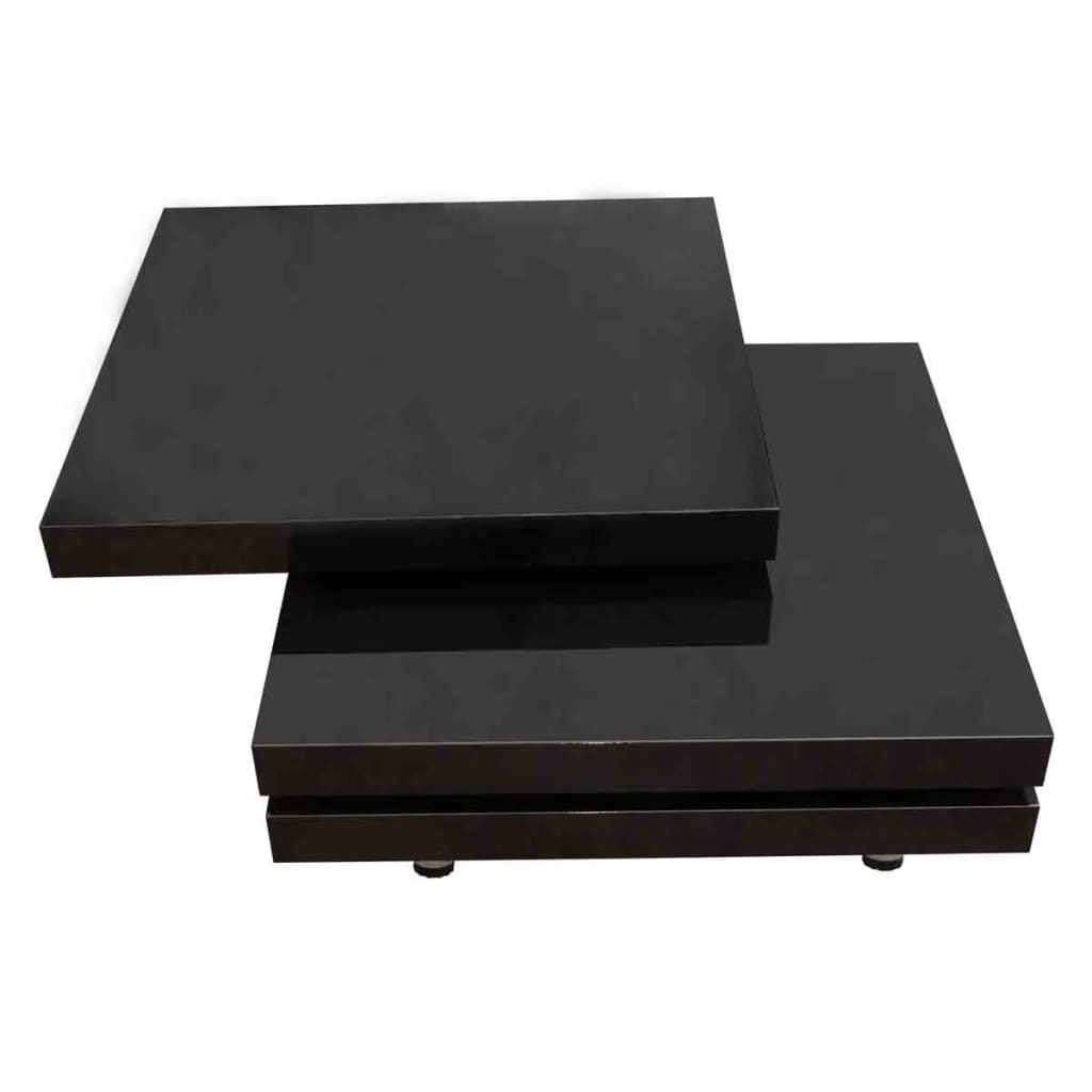 New-Modern-Coffee-Table-High-Gloss-Finish-Black-3-Layers-Extendable-Living-Room