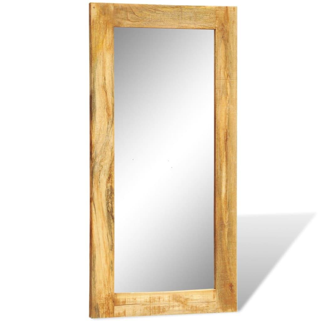 La boutique en ligne miroir mural en bois massif for Miroir 60 x 90