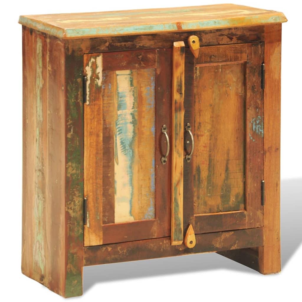 C moda vitage de madera reciclada con dos puertas tienda for Puertas de madera reciclada