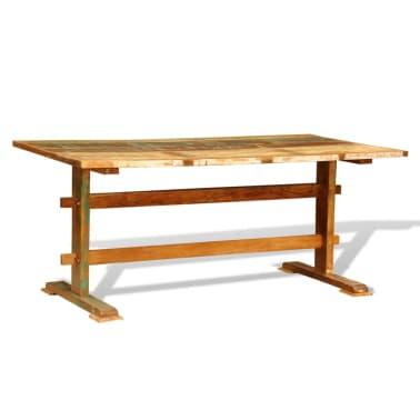Articoli per tavolo in legno invecchiato stile antico vintage ...