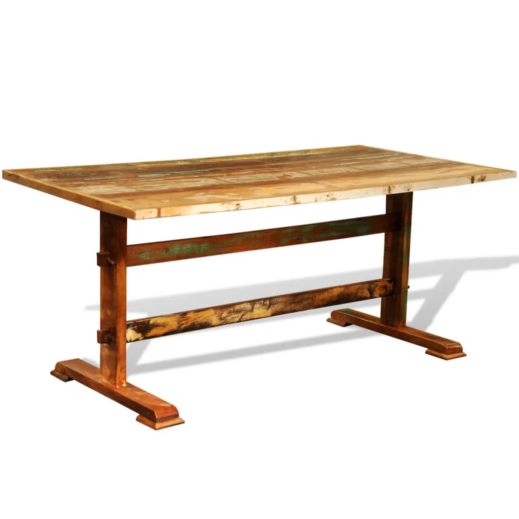 vidaXLcouk Reclaimed Wood Dining Table Vintage Antique  : image from www.vidaxl.co.uk size 1024 x 1024 jpeg 50kB