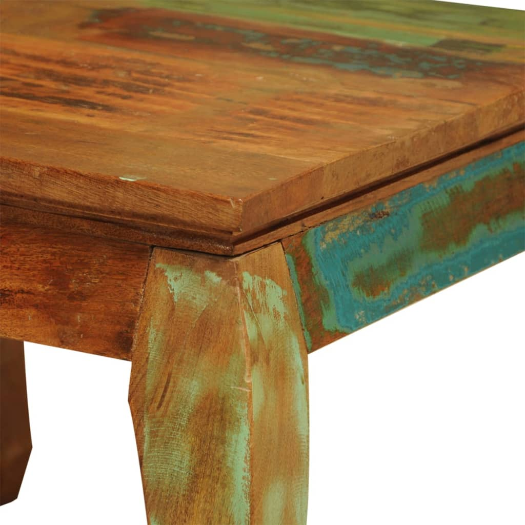 Reclaimed Wood Coffee Table Vintage Antique Style Vidaxl Com