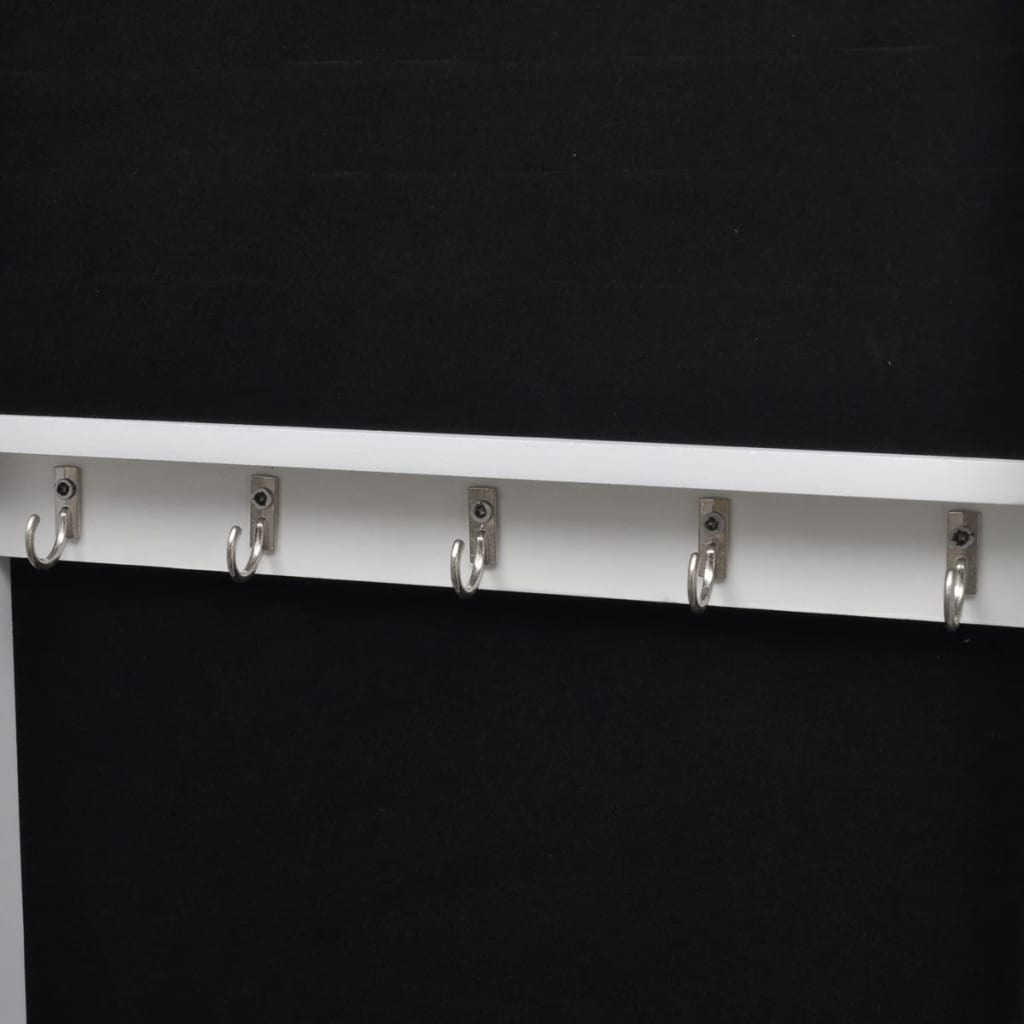 la boutique en ligne armoire bijoux de porte avec miroir. Black Bedroom Furniture Sets. Home Design Ideas