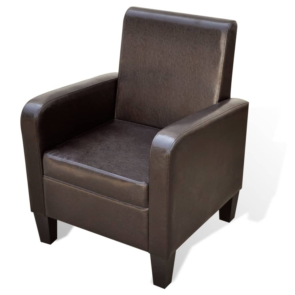 la boutique en ligne fauteuil rembourr en cuir. Black Bedroom Furniture Sets. Home Design Ideas