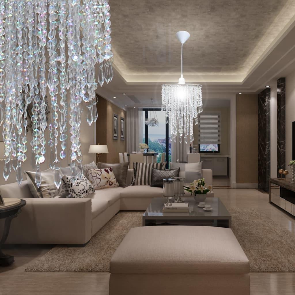 la boutique en ligne lustre suspendu en cristal 22 5 x 30 5 cm. Black Bedroom Furniture Sets. Home Design Ideas
