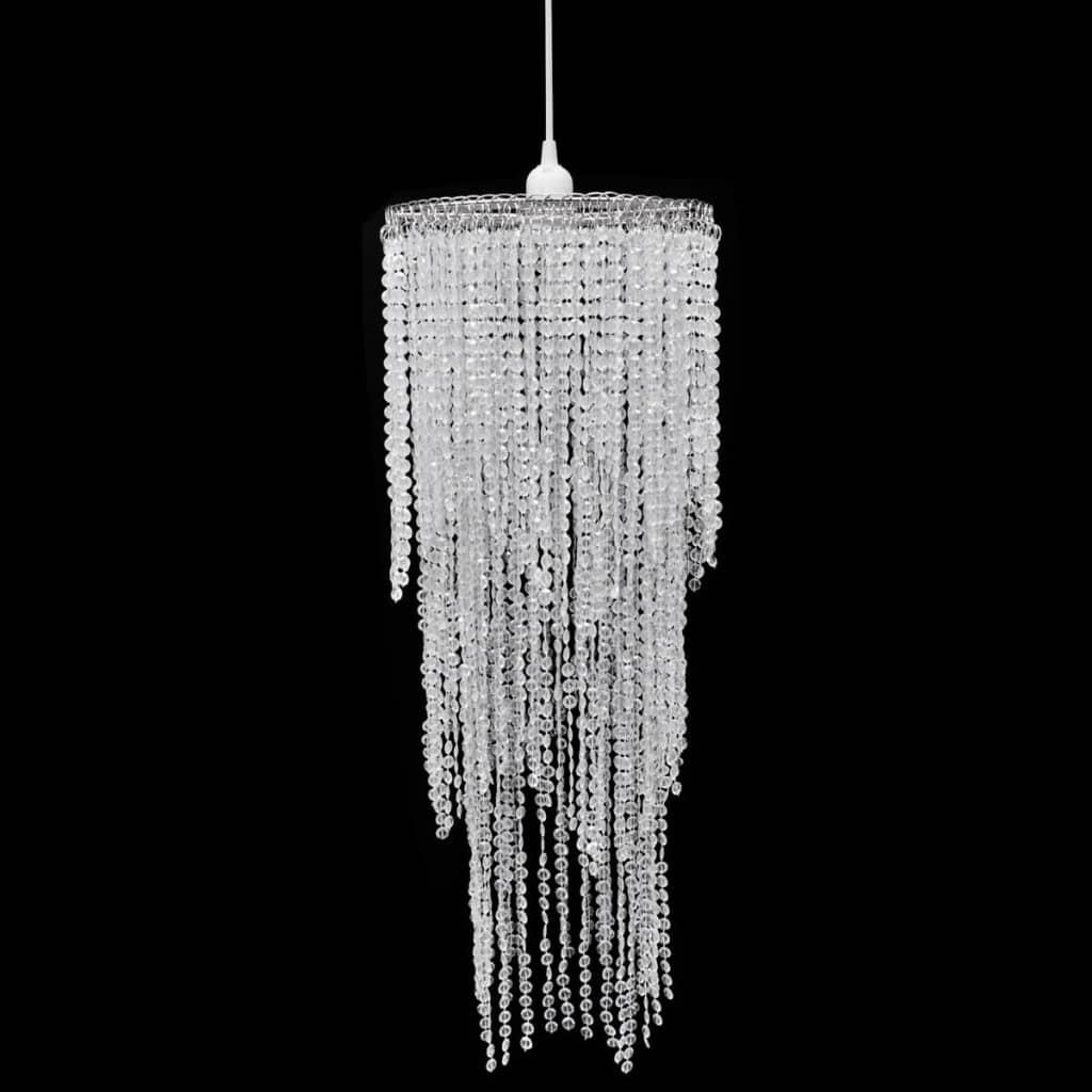 Ara a de luces colgante de cristal l mpara de techo luz for Luces colgantes para jardin