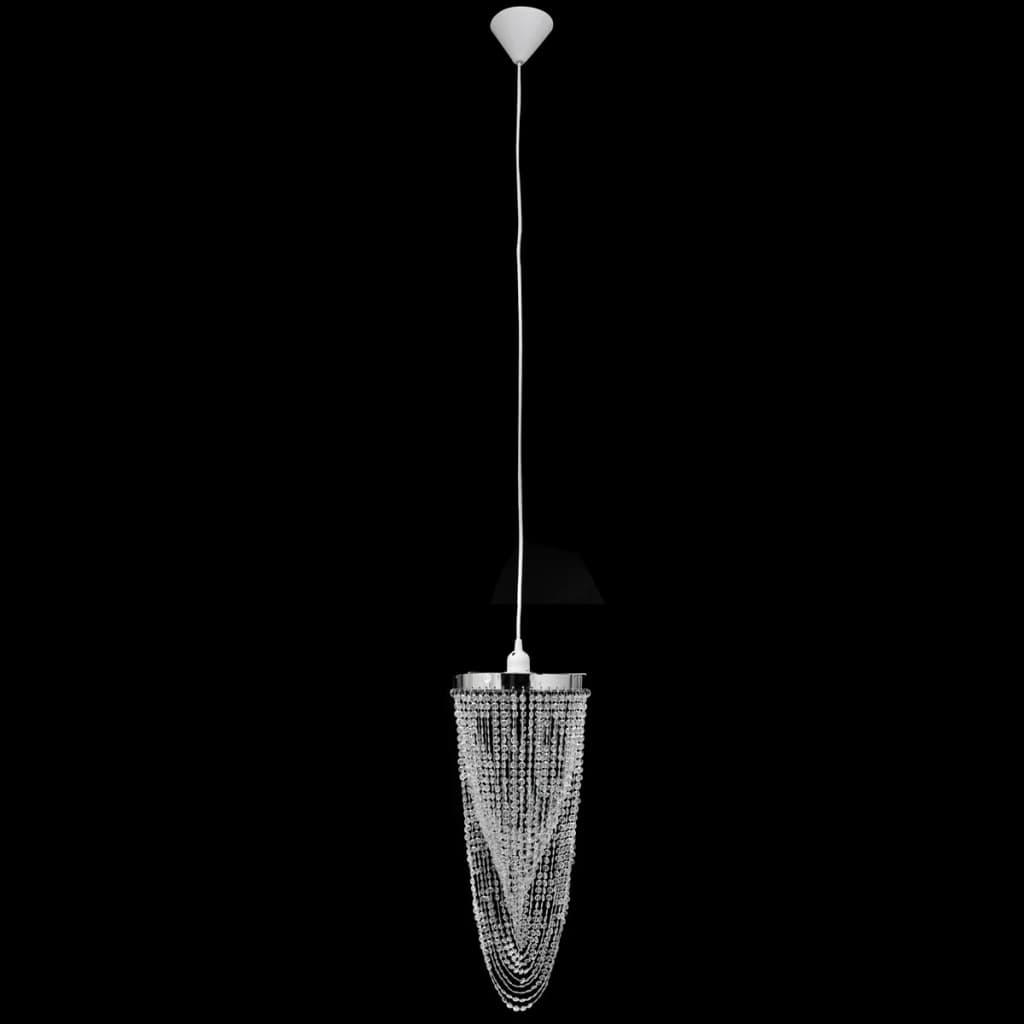 lampadario con paralume : Articoli per Lampadario da Soffitto con Paralume Cristallo 22 x 58 cm ...