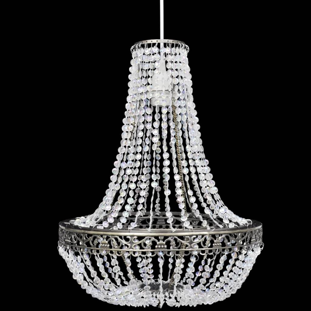 vidaXL-Lampara-Elegante-de-Arana-Colgante-de-Techo-con-Cristales-36-5x46-cm