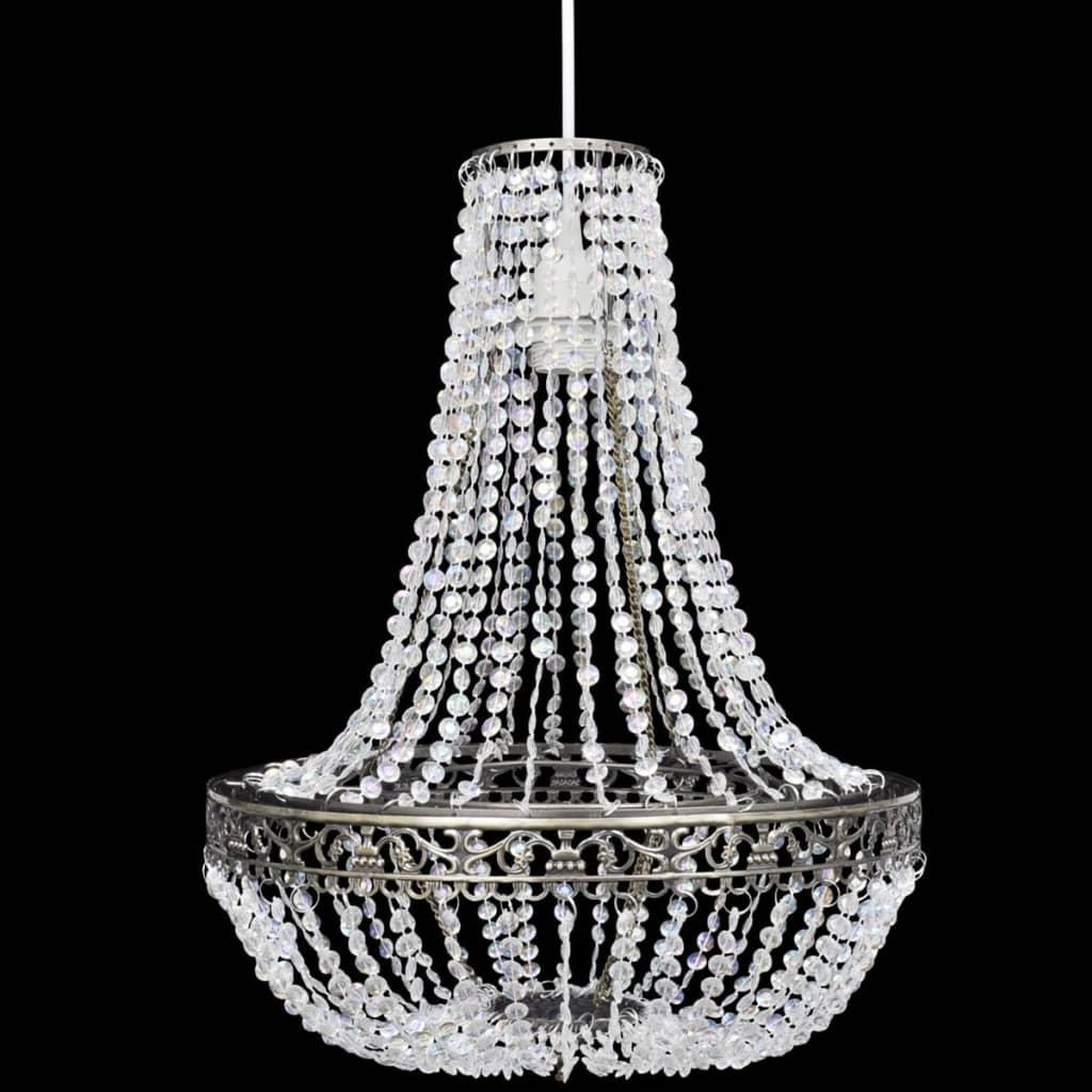 Haengelampe-Kronleuchter-Kristall-Lampe-Haengeleuchte-Deckenleuchte-Leuchte-Licht