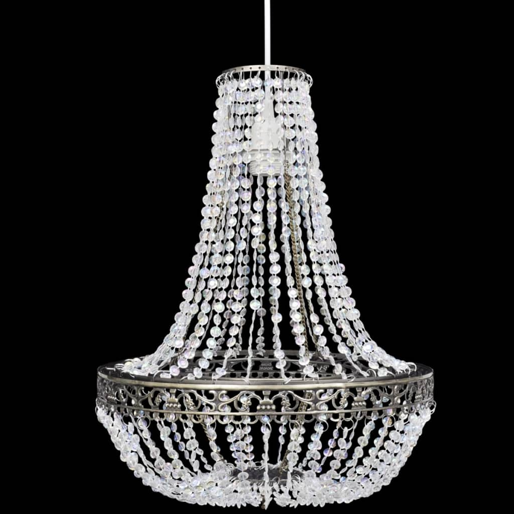 Lustre suspendu en cristal plafonnier lampe suspension ebay for Lustre en suspension