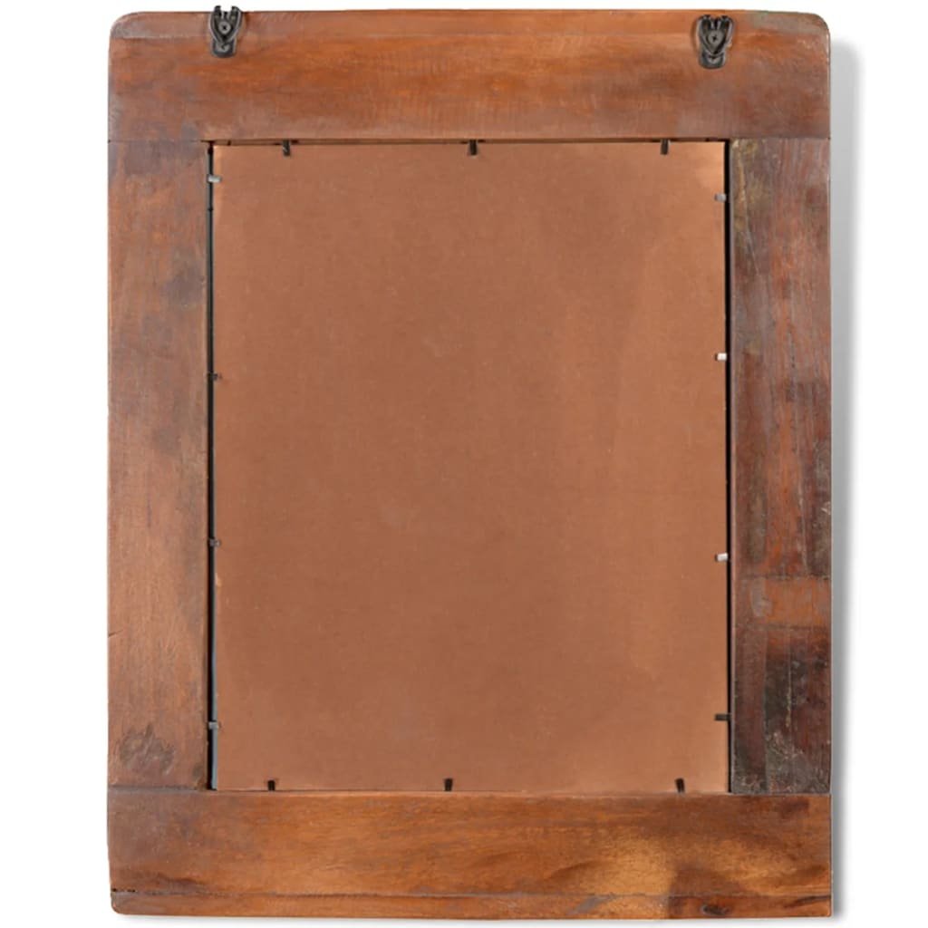 Reclaimed Solid Wood Vanity Cabinet Set