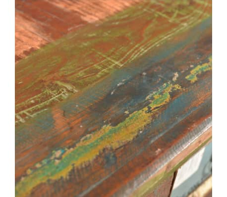 armoire 4 tiroirs en bois recycl. Black Bedroom Furniture Sets. Home Design Ideas