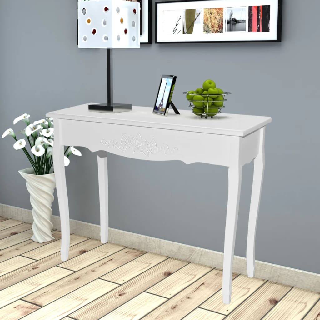 vida-xl-white-dressing-console-table