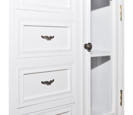 kommode schrank vitrine shabby mit schubladen regale antik im vidaxl trendshop. Black Bedroom Furniture Sets. Home Design Ideas