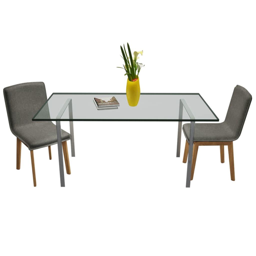 Set mobili in legno di quercia per interno 2 articoli for Mobili in quercia